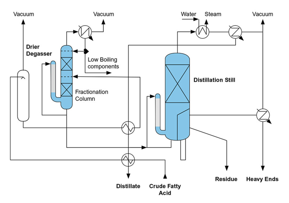 Fatty Acid Distillation/Fractionation